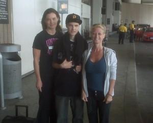 Aunt Kara, Eric and I